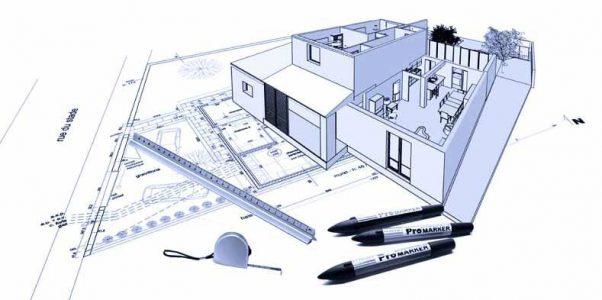 dessin architecture d'intérieur